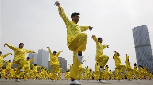 夜上海·悦动|五禽戏,让五脏也运动
