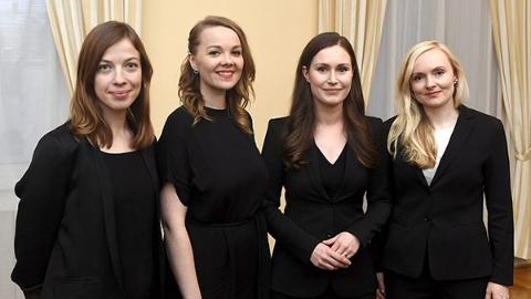 芬兰史上最年轻85后女总理上线:北欧女人当家 男人当爹又当妈