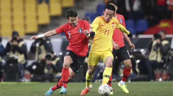 东亚杯再输韩国队:能维持住0:1已经是国足的极限了……