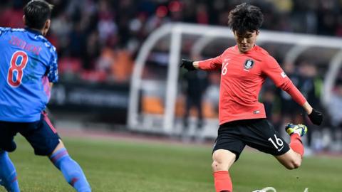 黄仁范一剑封喉 韩国小胜日本实现东亚杯三连冠