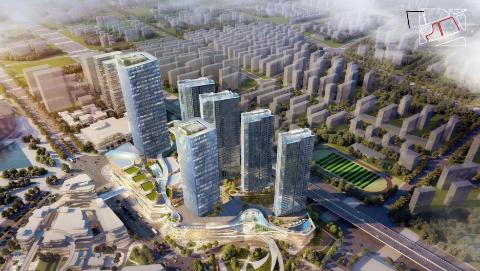 """全力打造""""世界级中央公共活动区样板区"""" 前滩最后一个城市综合体地块今天开工"""