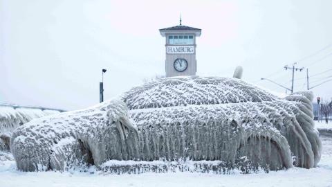 体感-65℃!美国多地遭遇史上罕见低温