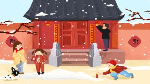 """春节习俗从""""禁""""到""""尊""""之掠影"""