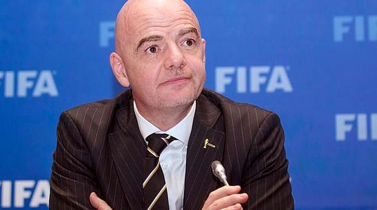 连任无悬念 因凡蒂诺一人竞选国际足联下一任主席