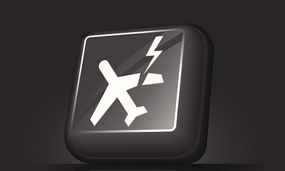 肯尼亚两客机在维护时相撞 飞机受损严重