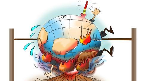 """地球""""高烧""""不退 过去四年史上最热"""