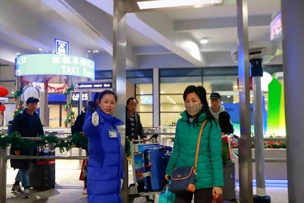 浦东机场出租车站点提高发车效率.jpg