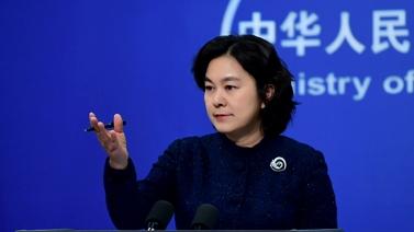 """外交部发言人:共建""""一带一路"""",中方从不强加于人"""