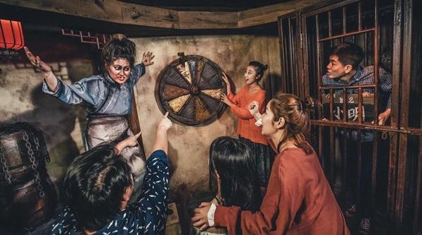 """夜上海丨探老上海""""惊魂密境"""""""