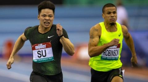 升级版中国苏 新赛季有点甜 苏炳添创60米今年世界最好成绩