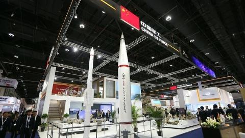 阿布扎比国际防务展开幕 中国最新防务产品受多方关注