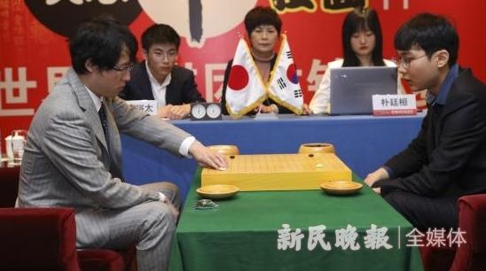 农心杯围棋擂台赛日本队提前出局 朴廷桓将面对党毅飞攻擂