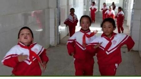 马德里这所小学有四分之一是华人学生 餐厅每周提供一次中餐