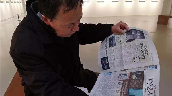 丰子恺艺术特展昨落幕,最后一批观众的留念被定格……