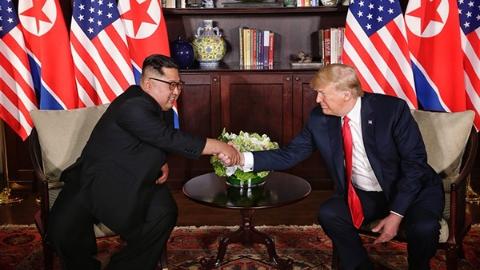 特朗普:朝鲜实现经济增长对美朝关系至关重要