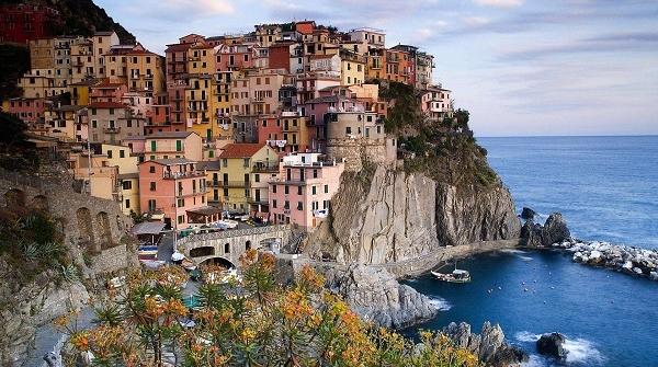 世界遗产之地意大利五渔村