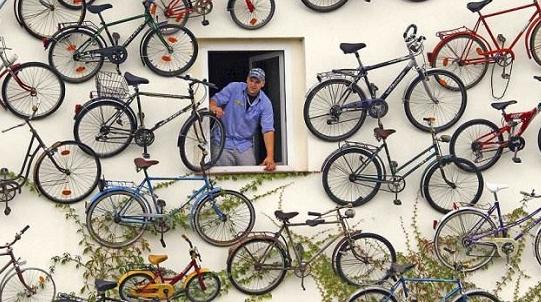 废旧自行车去哪