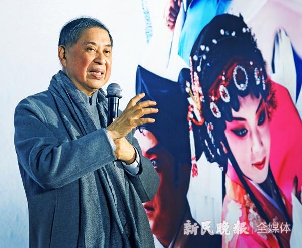 """有""""昆曲义工""""美名的著名作家白先勇昨在发布会上-郭新洋.jpg"""