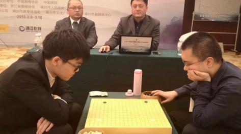首届王中王围棋争霸赛第二轮 柯洁中盘负于陈耀烨遭淘汰