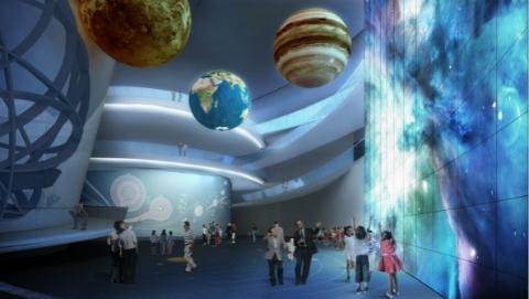 2021年,一起到滴水湖畔看星星吗?上海天文馆登上全国两会特别报道