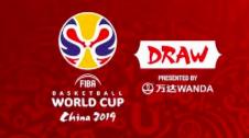 中国男篮抽得上上签 2019篮球世界杯分组抽签结束