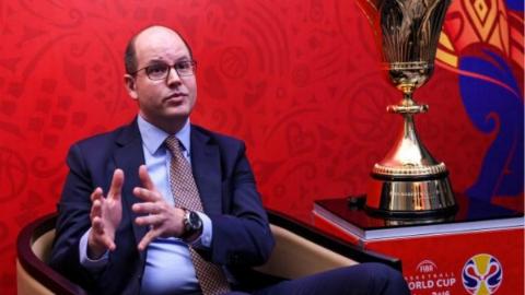 专访国际篮联秘书长扎格克里斯:上海是完美的举办城市