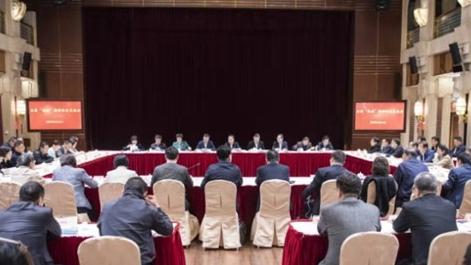 上海市委统战部召开交流会传达学习全国两会精神
