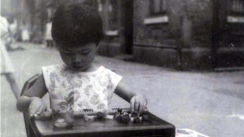 晒晒我家老照片|在张园的童年时光