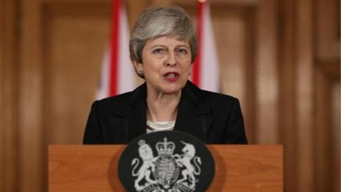 """英国正式递交推迟""""脱欧""""申请"""