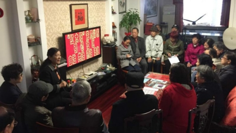 """虹口欧阳路街道党小组将覆盖每幢楼 构建""""家园党建""""社区治理模式"""