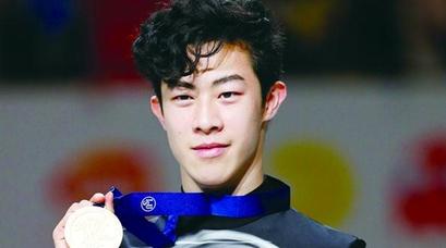 芭蕾范儿 花滑腕儿 华裔小将陈巍蝉联花滑世锦赛冠军