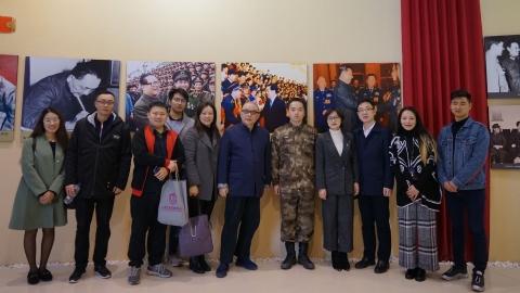 """不变的英雄,不变的""""好八连"""":上海国防教育协会开展会员主题日活动"""