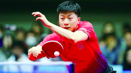 亚洲杯马龙胜张本智和 用实力打服对手 用胜利恢复信心