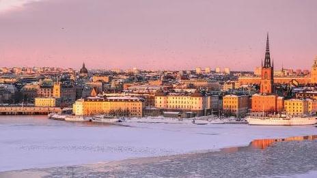 瑞典春寒料峭气温跌回零下