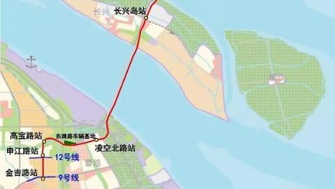 轨交崇明线选线专项规划今起公示 可与9号线、12号线换乘