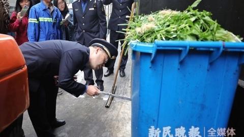 """城管""""飞行检查""""南京东路商圈 市百一店被令整改"""