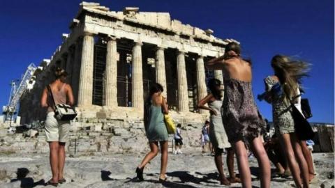 """希腊旅游业""""吸金""""能力有多强?"""