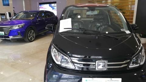 夜上海·潮店|电力公司也开潮店 营业厅卖新能源车