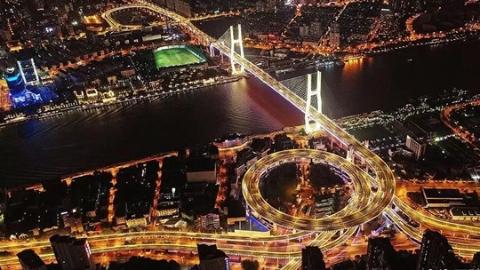 """南浦大桥大修竣工 添置新""""装备""""完成智能化升级"""