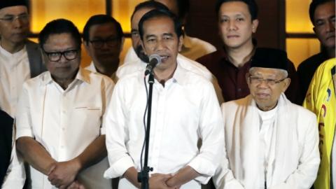 印尼大选快速点票显示:佐科有望成功连任 对手拒绝承认落败