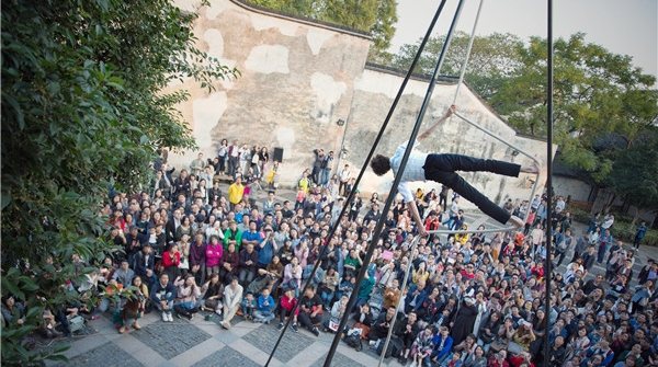 历史的空间,流动的艺术,思南公馆里的艺术节没有墙