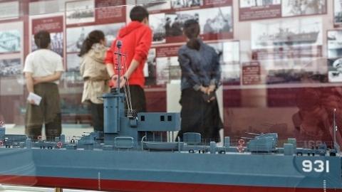 """纪念人民海军成立70周年  中海博邀市民看""""舰"""""""