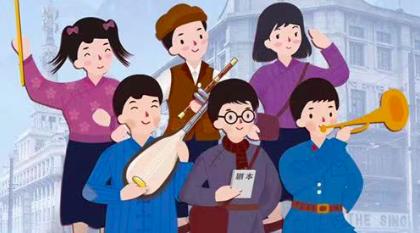 战火中的小战士对话新时代的接班人  儿童剧《孩子剧团》让少先队员忆苦思甜