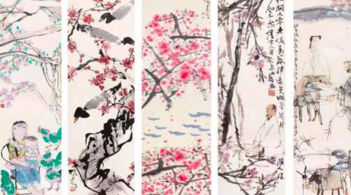 春暖花开,来上海金刚博物馆看文人如何赏花画花