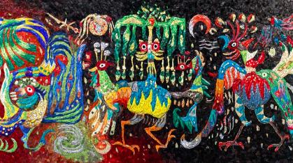 马赛克镶嵌成的艺术,在当下中国能有多美?