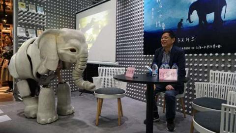 """动物小说家沈石溪谈""""一头战象""""的诞生"""