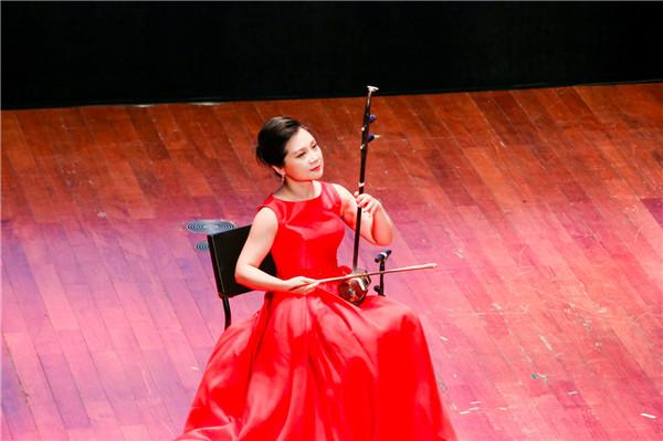 二胡奏出清新江南风 第二届上海二胡艺术周开幕