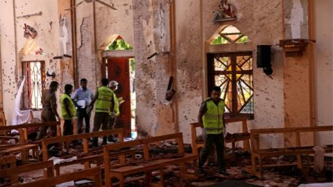 斯里兰卡防长:复活节系列爆炸是针对新西兰清真寺袭击事件的报复