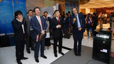 """""""传承·未来""""毕业设计展在工程大松江校区开幕 最新数字技术融合中华文化"""