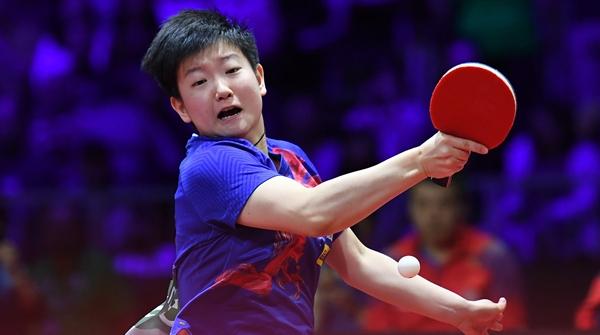 """想登顶世界第一的""""00后""""伊藤美诚,输给了比她还年轻的国乒小将"""